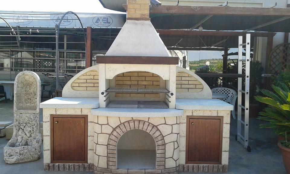 Awesome cucina in muratura per esterni con barbecue images - Cucina in muratura per esterni ...